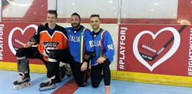 PLAY FOR CIRONE: GRANDE SERATA DI HOCKEY E AMICIZIA PER JASON